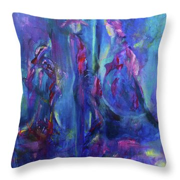 The Conversation Throw Pillow