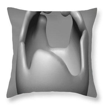 'the Conversation' Throw Pillow