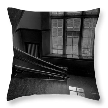 The Conversation Window Throw Pillow by David Patterson