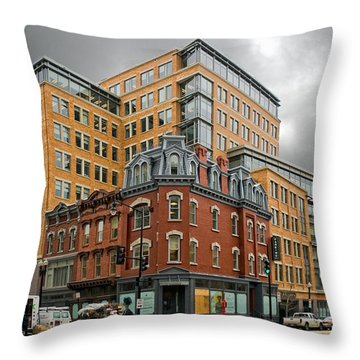 The Corner Throw Pillow by Christopher Holmes