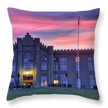 The Corps Forms For Breakfast Throw Pillow