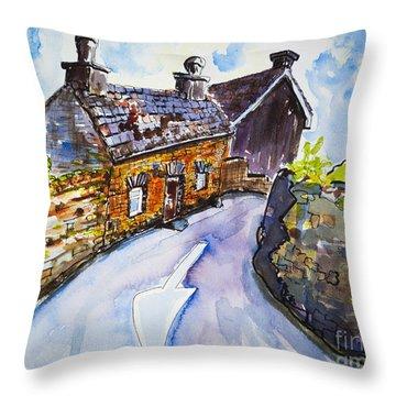 The Cottage Kinsale Throw Pillow by Lidija Ivanek - SiLa