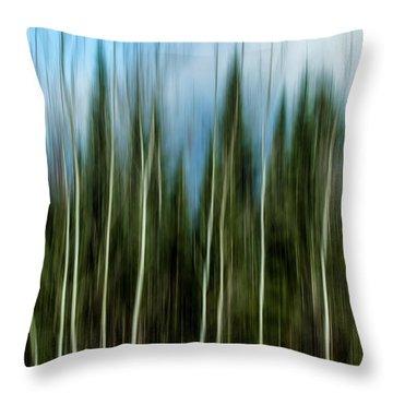 The Counsel Of Trees Throw Pillow