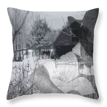 The Country Song Throw Pillow
