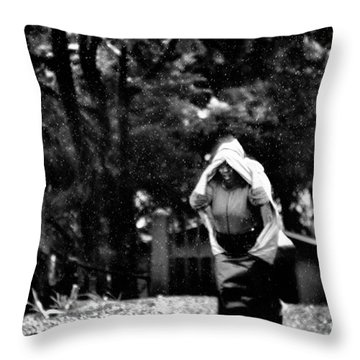 The Courage Of Women Throw Pillow
