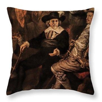 The Court Debate Throw Pillow