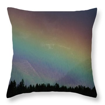 Throw Pillow featuring the photograph The Covenant  by Cathie Douglas