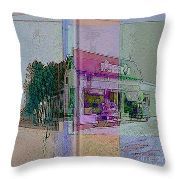 The Cracker Barrel Throw Pillow by Donald Maier