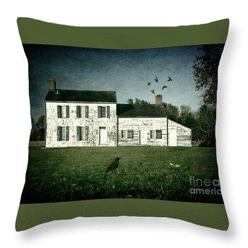 The Craig House II Throw Pillow