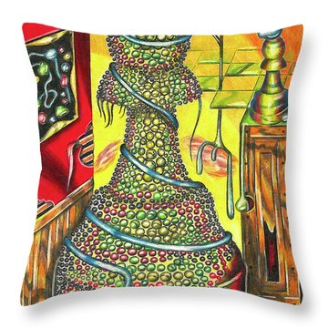 The Creation Of A Magnificent Strategy Throw Pillow