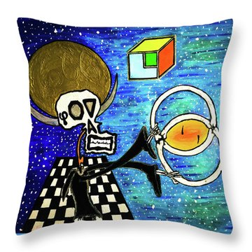 The Creatiooon  Throw Pillow