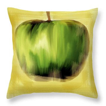 The Creative Apple  Throw Pillow