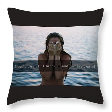 The Creep Throw Pillow