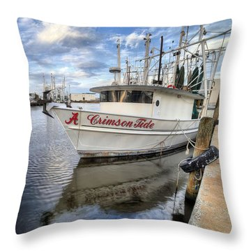 The Crimson Tide Throw Pillow
