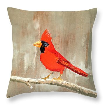 The Crooner Throw Pillow
