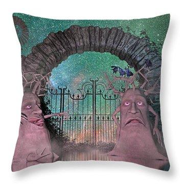 Crows Nest Throw Pillows