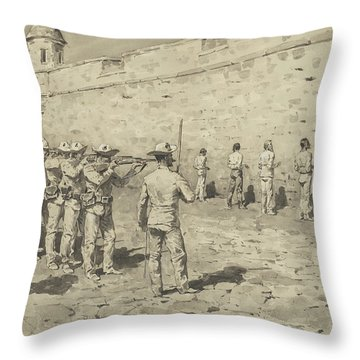 The Cuban Martyrdom Throw Pillow