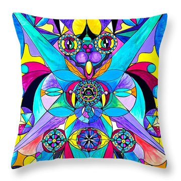 The Cure Throw Pillow