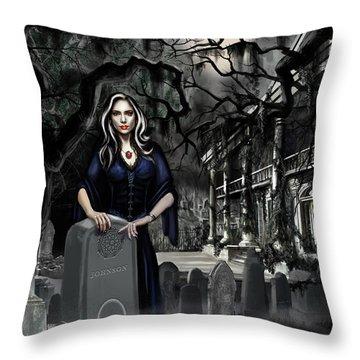 The Curse Of Johnson Bayou Throw Pillow