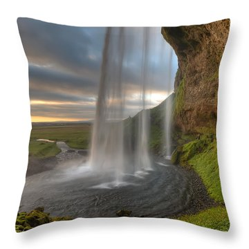Waterfalls Throw Pillows