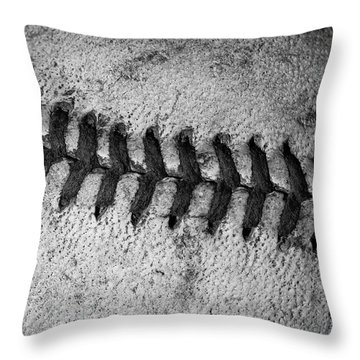 Throw Pillow featuring the photograph The Curve Ball by David Patterson