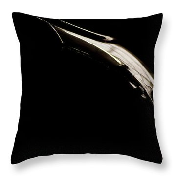 The Curve Throw Pillow by Paul Job