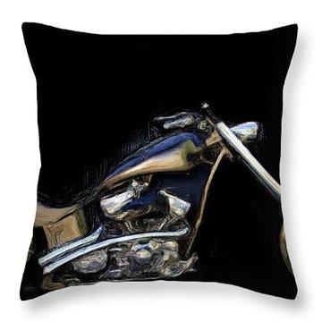 The Custom Rocker Throw Pillow by Wayne Bonney