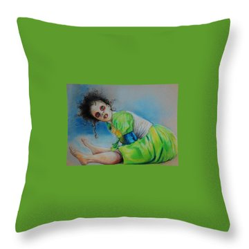 The Dance Is Over Throw Pillow by Jean Cormier