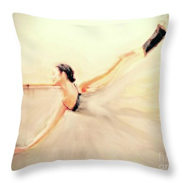 The Dance Of Life Throw Pillow by FeatherStone Studio Julie A Miller