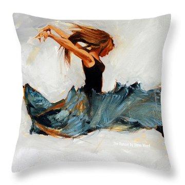 The Dancer No. 5 Throw Pillow