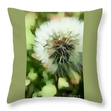Throw Pillow featuring the photograph The Dandy by Diane Miller