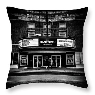 The Danforth Music Hall Toronto Canada No 1 Throw Pillow