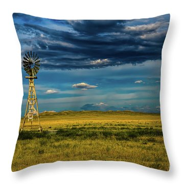 The Dark Wind Throw Pillow