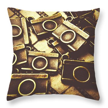 The Darkroom Process Throw Pillow
