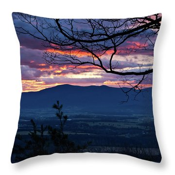 Throw Pillow featuring the photograph The Dawn Of 2017 by Lara Ellis
