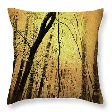 The Dawn Of The Trees Throw Pillow