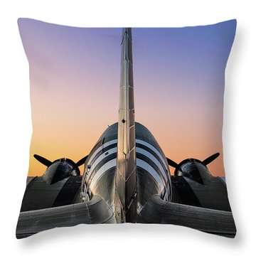 The Dawn Of Victory Throw Pillow