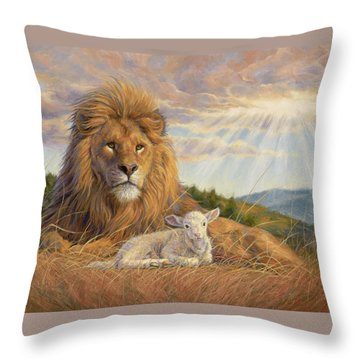 The Dawning Of A New Day Throw Pillow