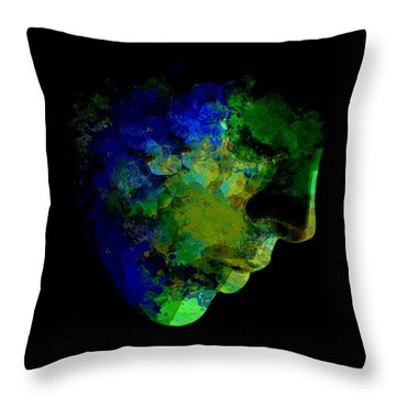 The Day That Mother Earth Will Weep Throw Pillow