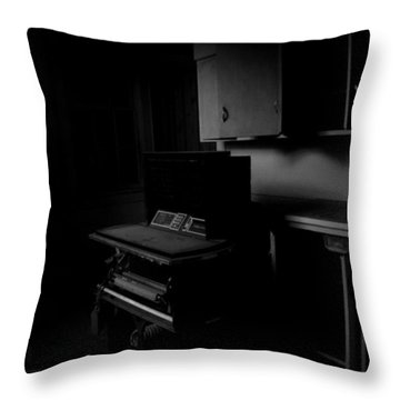 The Day The Music Died Throw Pillow by Jessica Brawley