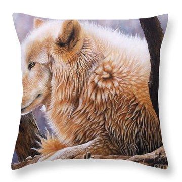 The Daystar Throw Pillow by Sandi Baker