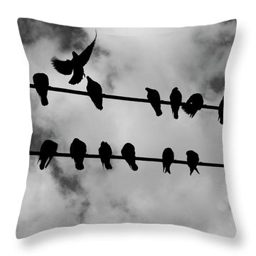 The Dead Ones Throw Pillow