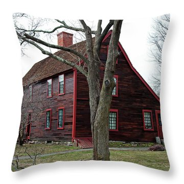 The Deane Winthrop House Throw Pillow
