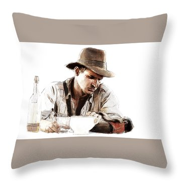 The Death Of Marion Throw Pillow