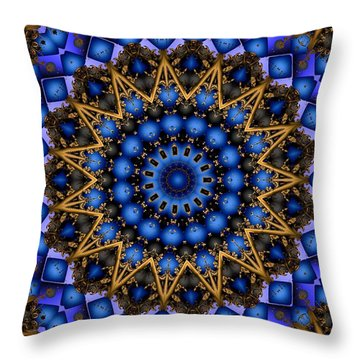 The Deep Throw Pillow by Robert Orinski