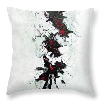 The Depths Within  Throw Pillow