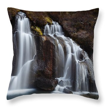The Descent Throw Pillow