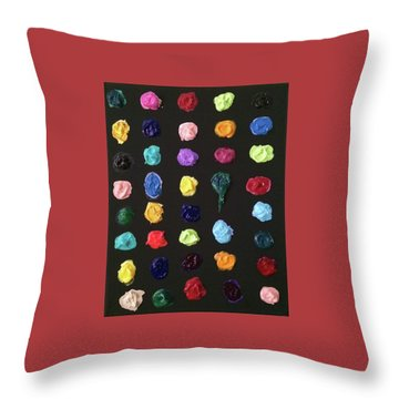 The Destruction Of Earth Throw Pillow