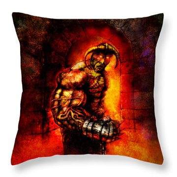 The Devil's Henchman Throw Pillow