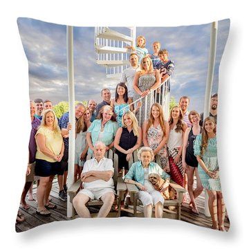 The Dezzutti Family Throw Pillow